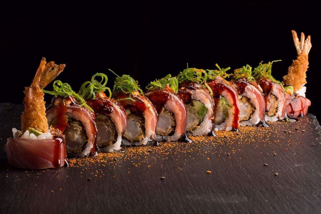 Picture of Red Hot Dragon Roll
